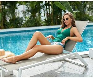 beachwear, lovely, and swimsuit image