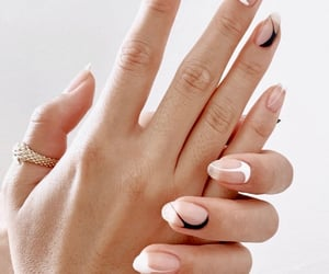 feed, jewelry, and long nails image