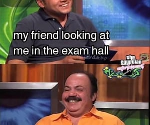 college, exam, and دراسةً image