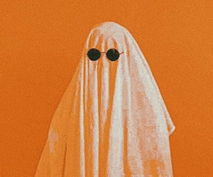 autumn, ghost, and glasses image