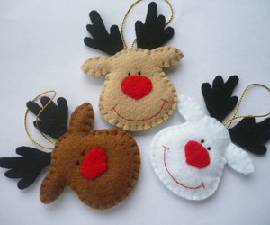 christmas and felt image
