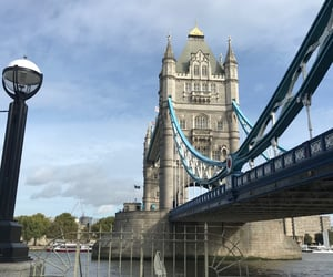bridge, london, and photograpy image