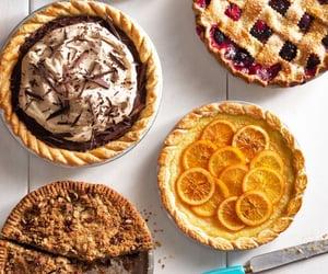 orange and pie image