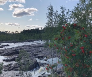 sweden, ume, and waterfall image