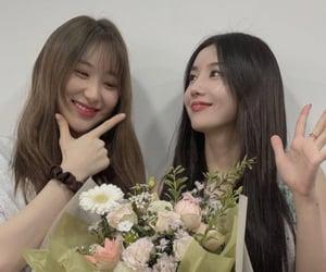 girls, chaeyeon, and kwon eunbi image