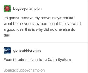 funny, tumblr text, and mental health image