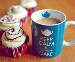 cake, photography, and ceep calm image