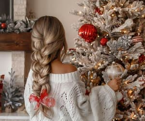 beauty, holiday, and merry christmas image