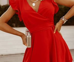 fashion, robe, and dress image