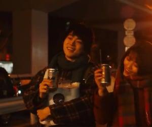 couple, japanese, and movie image