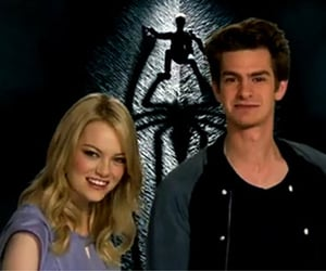emma stone, spiderman, and gwen stacy image