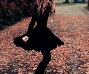 black, autumn, and fall image