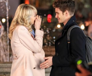 spiderman, gwen stacy, and andrew garfield image