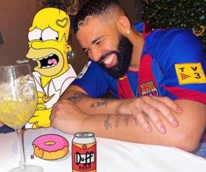 Drake, homer, and champagnepapi image