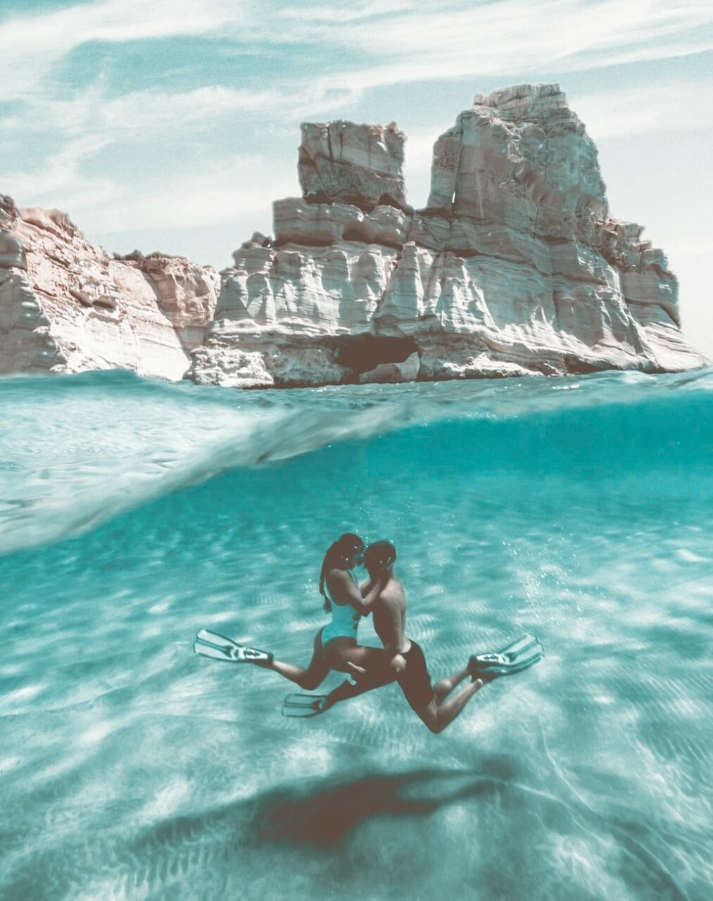 aesthetic, water, and waves image