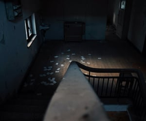 abandoned, home, and interior image