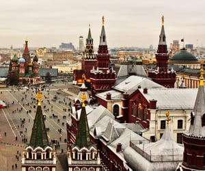 architecture, moscow, and pretty places image