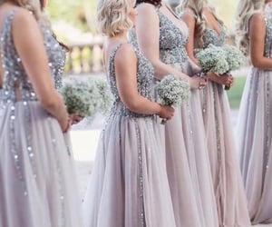 wedding, wedding ideas, and bridesmaid dresses image