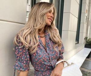 bag, blonde, and blonde hair image