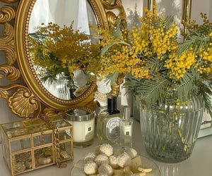 aesthetic, flowers, and interior image