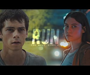 movie, video, and the maze runner image