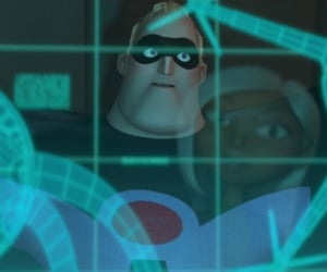 2000s, superhero, and The Incredibles image