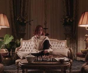 aesthetic, chess, and netflix image