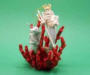 beard, crown, and neptune image