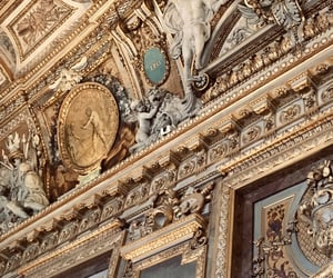 architecture, art, and louvre image