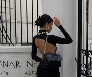 bag, model, and minimal fashion image