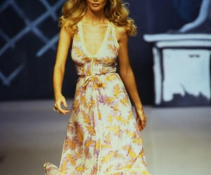 1990s, model, and runway image