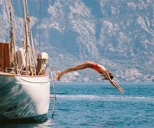summer, boat, and sea image