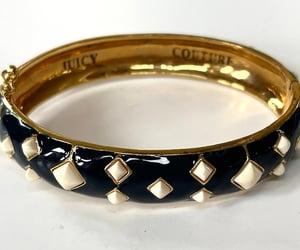 enamel bracelet, vintagevoguetreasure, and etsy image
