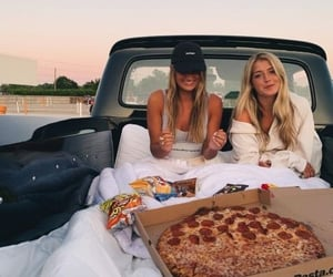 besties, delicious, and food image