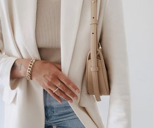 accessories, outfit, and blazer image