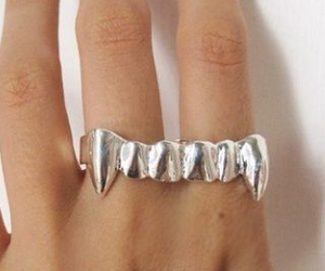 fangs, pretty, and jewellery image