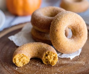 autumn, delicious, and donut image