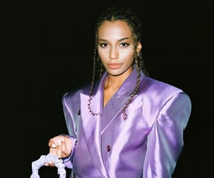 gossip girl, purple, and suit image