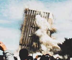 dystopian, sky, and chaos image