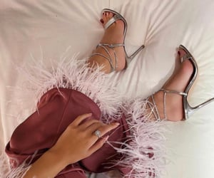 high heels, luxury, and night out image