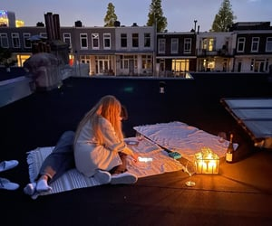 candles, comfy, and cosy image