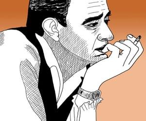 caricatura, caricature, and composer image