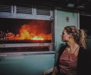 aesthetic, burn, and burning image