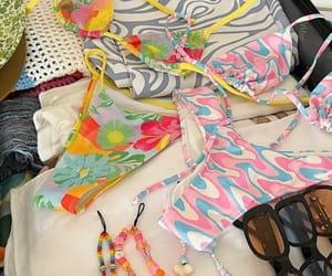 beads, bikini, and sunglasses image