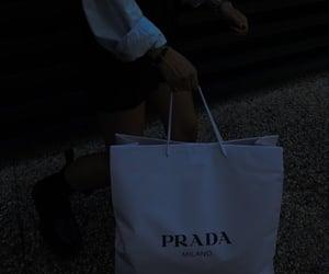 Prada and shopping bag image