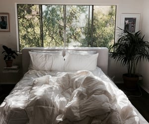 home, bed, and aesthetic image