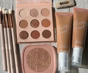 aesthetic, eyeshadow, and colourpop image