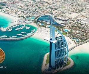 dubai properties and real estate with bitcoin image
