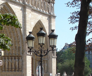 light, notre dame, and summer image