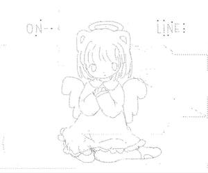 fallen angel, girl, and angel image